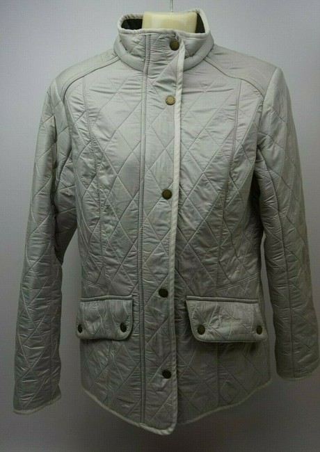 Barbour White Jacket Image 2