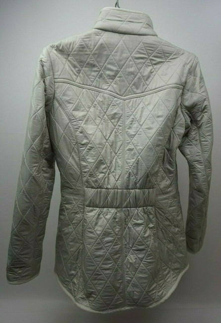 Barbour White Jacket Image 3