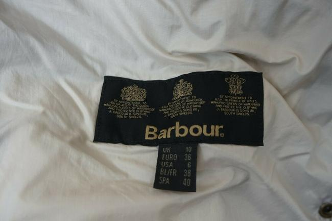 Barbour White Jacket Image 4