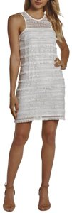 Ali & Jay Crochet Lace Fringed Lace Size L Dress