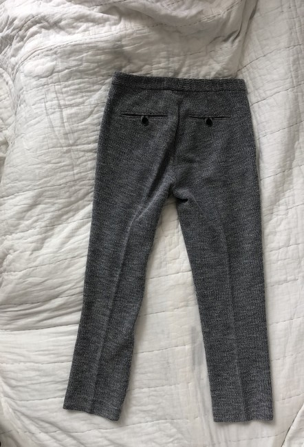 Theory Capri/Cropped Pants navy blue and white Image 2