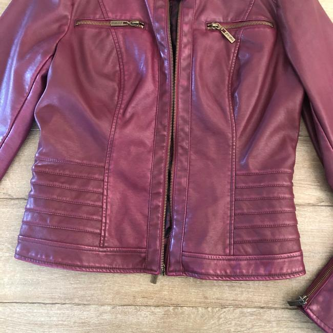 Guess Leather Jacket Image 2