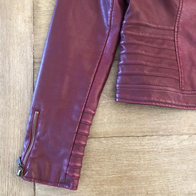 Guess Leather Jacket Image 3