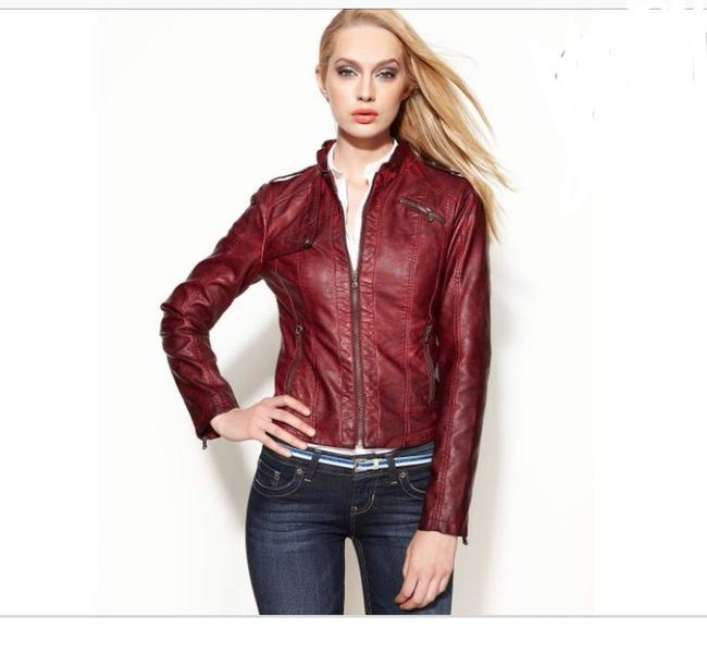 Guess Leather Jacket Image 5