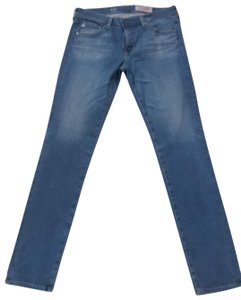 AG Adriano Goldschmied Straight Leg Jeans-Light Wash