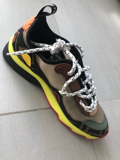 Fendi Multi Color Athletic Image 6