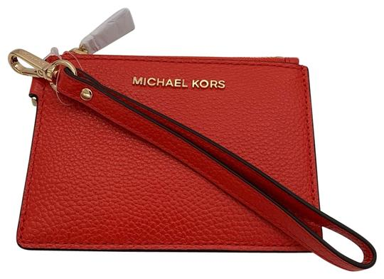 Preload https://img-static.tradesy.com/item/25956649/michael-kors-sea-coral-top-zip-money-pieces-small-coin-purse-wristlet-wallet-0-1-540-540.jpg