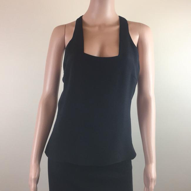 Cushnie et Ochs Gucci Silk Chanel Top Black Image 1