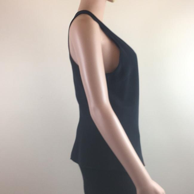 Cushnie et Ochs Gucci Silk Chanel Top Black Image 3