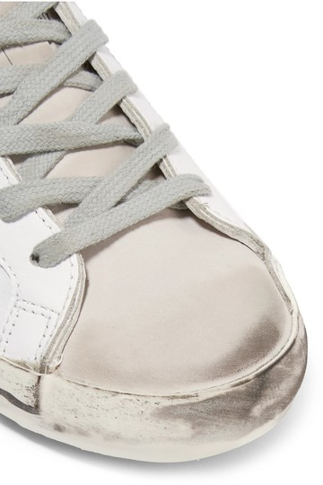 Golden Goose Deluxe Brand Ggdb Superstar Skate Sneaker White and Off-White Athletic Image 2