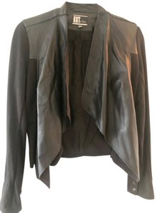 KUT from the Kloth black Leather Jacket