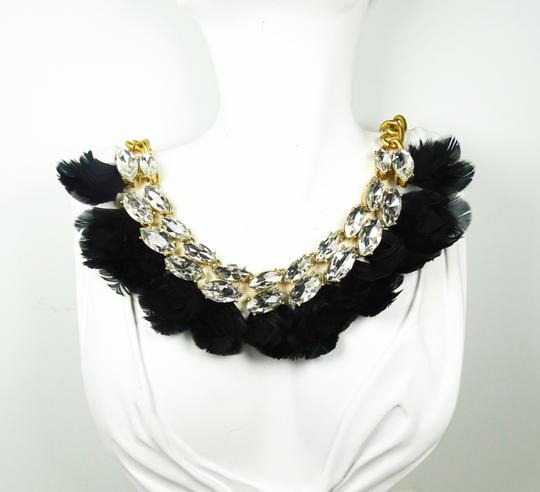 Kate Spade KATE SPADE Gold Plated In Full Feather Statement Necklace Image 1