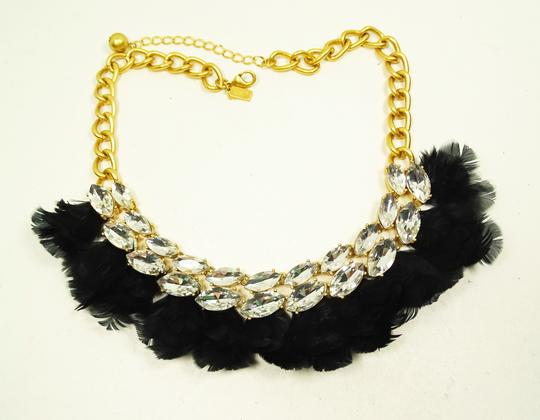 Kate Spade KATE SPADE Gold Plated In Full Feather Statement Necklace Image 2