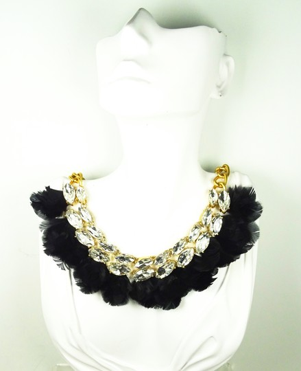 Kate Spade KATE SPADE Gold Plated In Full Feather Statement Necklace Image 6