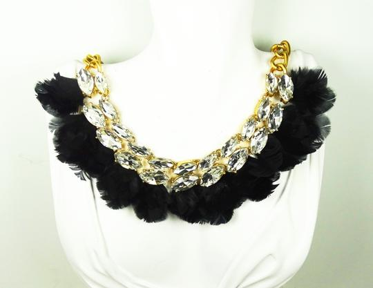 Kate Spade KATE SPADE Gold Plated In Full Feather Statement Necklace Image 7