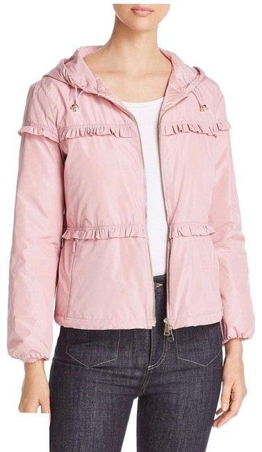 Item - Pink Prague Ruffled Lightweight Jacket Size 0 (XS)