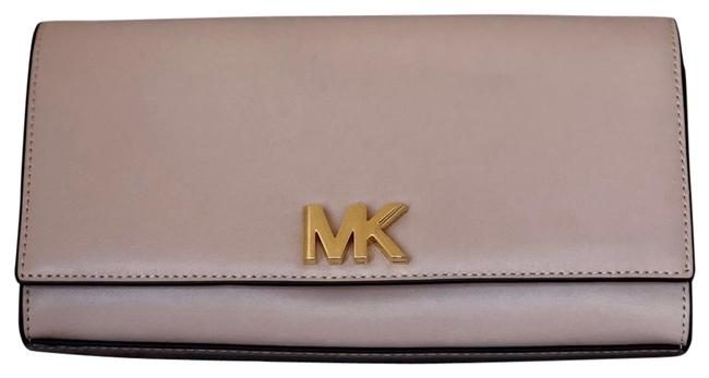 Item - Mott East-west Pale Pink Leather Clutch