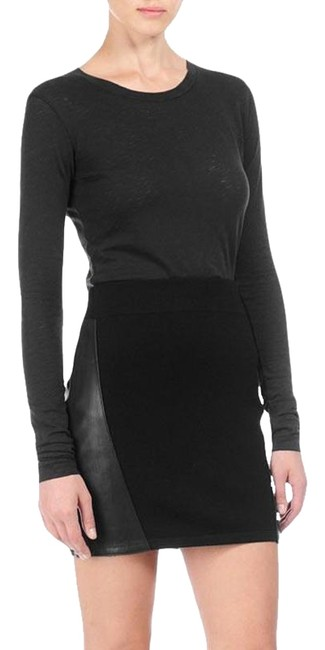 Rag & Bone Mini Skirt Black Image 0