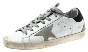 Golden Goose Deluxe Brand Leather Suede Lace White Athletic