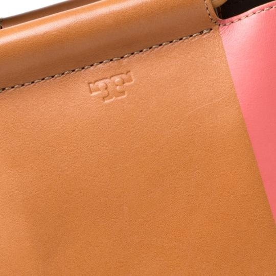 Tory Burch Leather Bamboo Tote in Multicolor Image 8