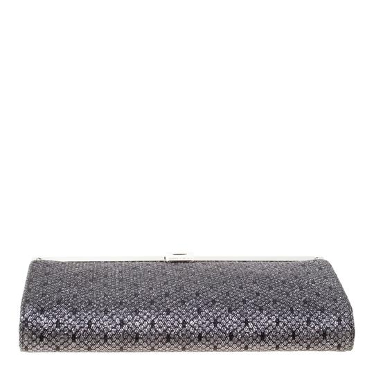 Jimmy Choo Lace Glitter Metallic Clutch Image 3