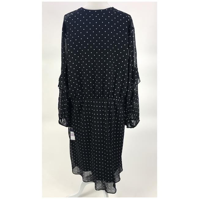 Rachel Roy Polka Dot Sheath Holiday Silhouette Plus-size Dress Image 2