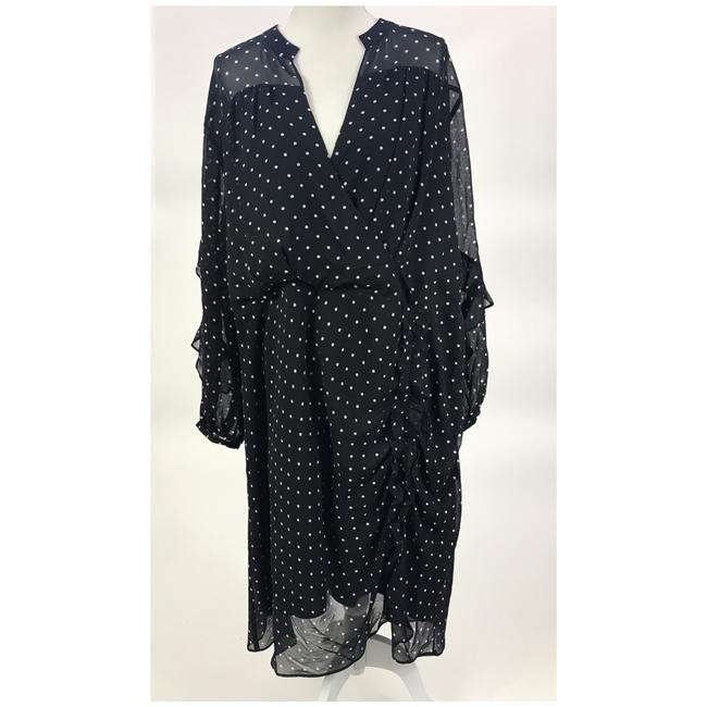 Rachel Roy Polka Dot Sheath Holiday Silhouette Plus-size Dress Image 5