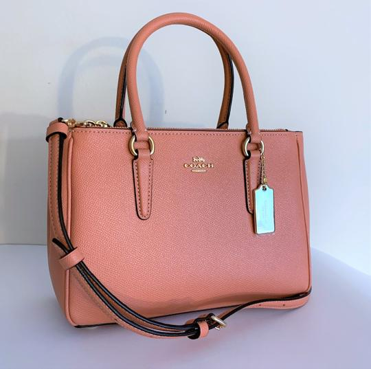 Coach Satchel in Light Coral Image 1