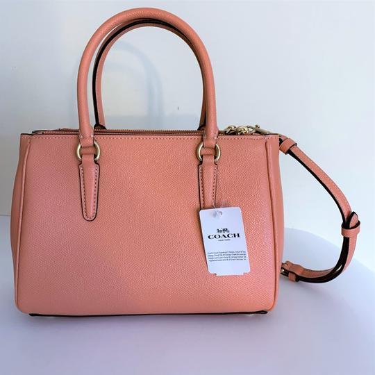 Coach Satchel in Light Coral Image 2