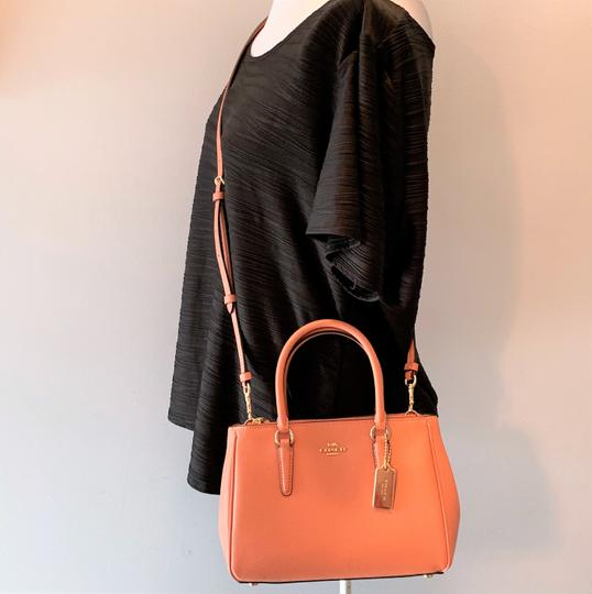 Coach Satchel in Light Coral Image 4