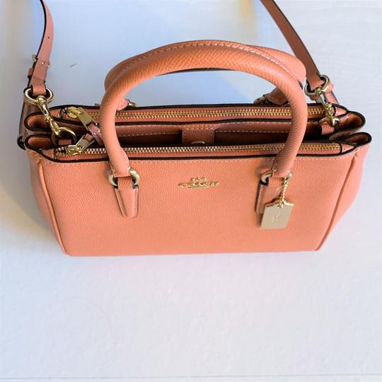 Coach Satchel in Light Coral Image 5