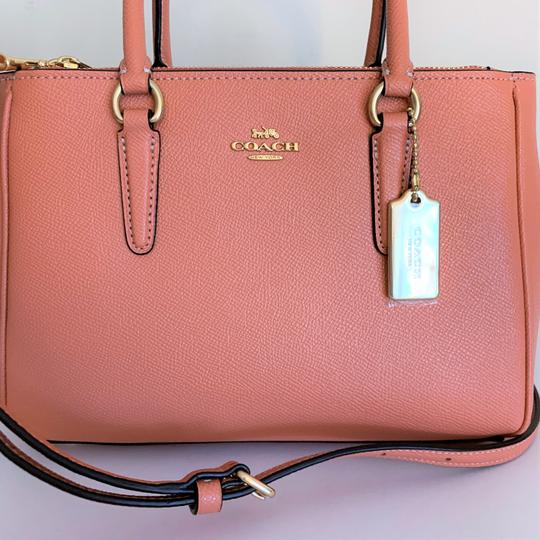 Coach Satchel in Light Coral Image 6