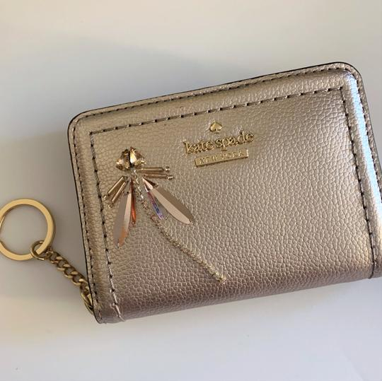 Kate Spade Dani Dragonfly Card/Coin Case Wallet Image 4