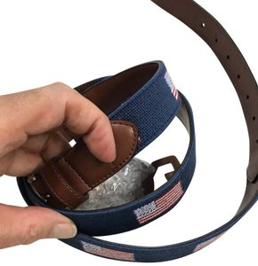 Tommy Bahama American Flag Belt
