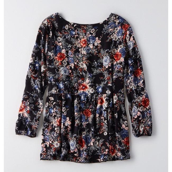 American Eagle Outfitters Top Black Image 1