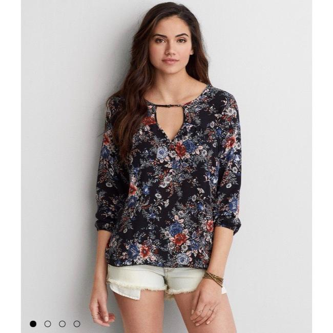 American Eagle Outfitters Top Black Image 2