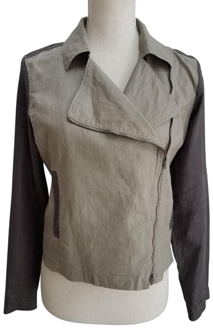 Preload https://img-static.tradesy.com/item/25957600/eileen-fisher-stone-and-carbon-moto-organic-linen-jacket-size-2-xs-0-1-650-650.jpg