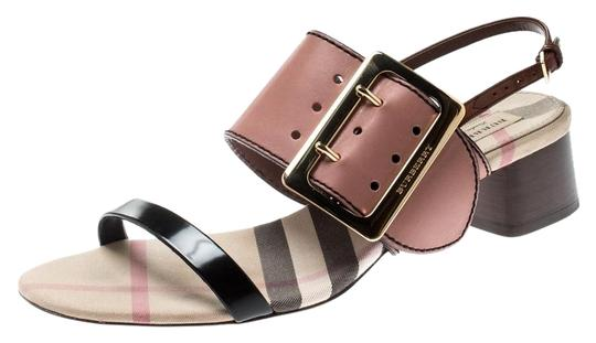 Preload https://img-static.tradesy.com/item/25957609/burberry-multicolor-tricolor-leather-sawley-trench-buckle-slingback-sandals-size-eu-40-approx-us-10-0-1-540-540.jpg