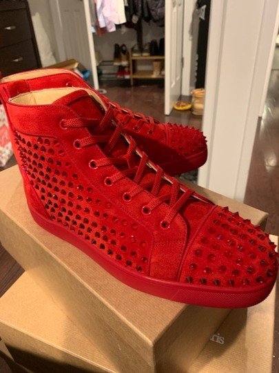 Christian Louboutin Red Athletic Image 2