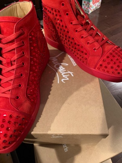 Christian Louboutin Red Athletic Image 3
