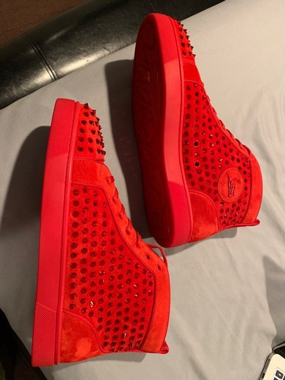 Christian Louboutin Red Athletic Image 4