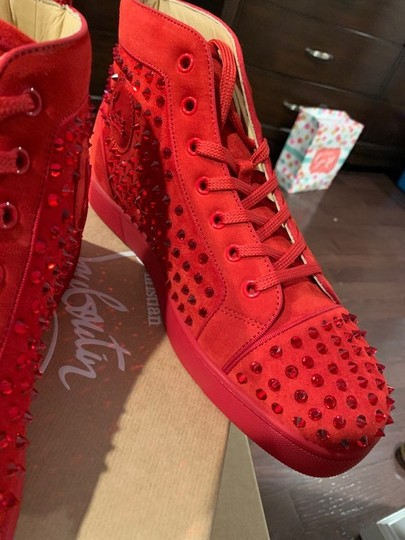 Christian Louboutin Red Athletic Image 5