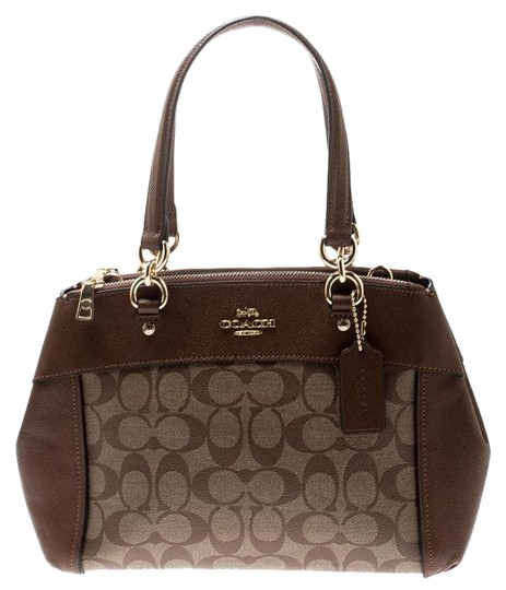 Preload https://img-static.tradesy.com/item/25957620/coach-signature-brooke-caryall-brown-coated-canvas-and-leather-satchel-0-1-540-540.jpg