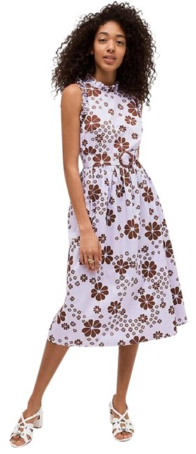 Preload https://img-static.tradesy.com/item/25957630/kate-spade-purple-floras-midi-mid-length-formal-dress-size-12-l-0-1-650-650.jpg