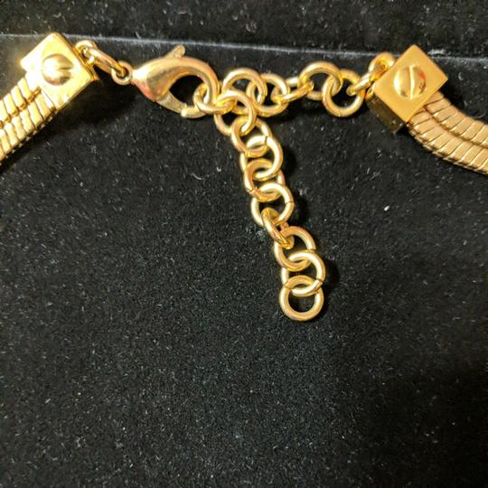 Vince Camuto Vince Camuto Leather and Gold Necklace Image 5