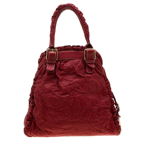 Dolce&Gabbana Leather Satchel in Red Image 1