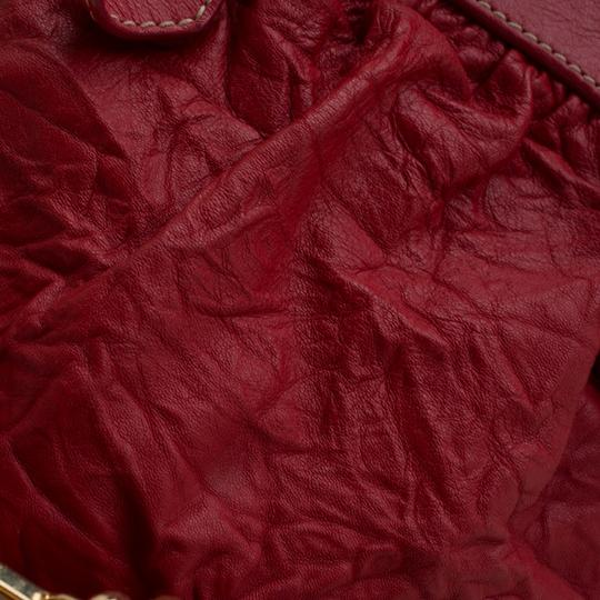 Dolce&Gabbana Leather Satchel in Red Image 9