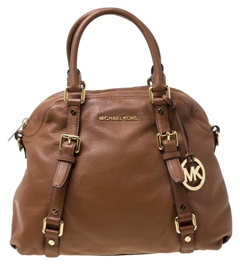 Preload https://img-static.tradesy.com/item/25957651/michael-michael-kors-bedford-tan-leather-satchel-0-1-540-540.jpg