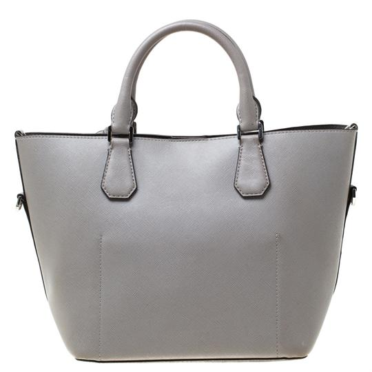 Michael Kors Leather Tote in Grey Image 1