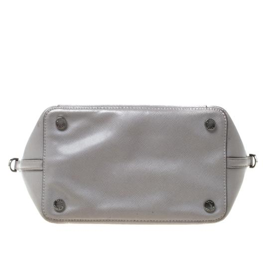 Michael Kors Leather Tote in Grey Image 4